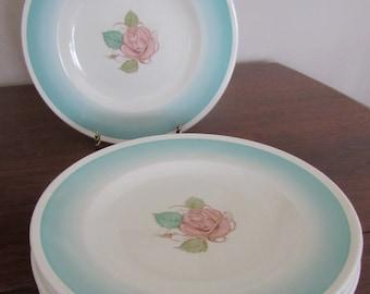 "Vintage Susie Cooper 6"" Side Plate ""Patricia Rose"" c.1930's"