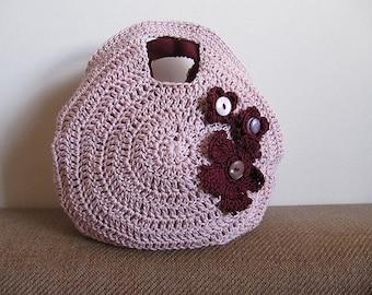 Crochet Circular Purse  (Full Circle Purse) Instant Download