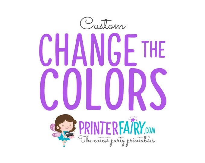 Change the colors of your invitation