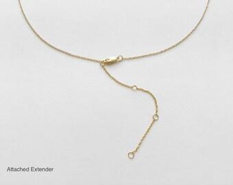 Add an extender - Make your necklace/bracelet adjustable - #TD4/TD3