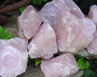 Natural Raw Rose Quartz  piece Love Stone, Specimen, Lapidary, Collectible 15FR83 J