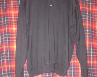 Eddie Bauer black pullover sweater