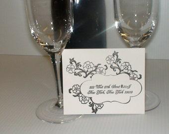 Letterpress Invitation, Wedding, B-day, Baby & Bridal Shower