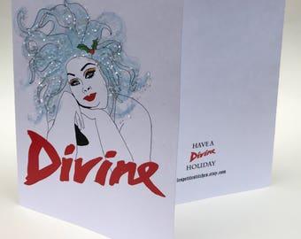 Divine Holiday card 6 pack bundle