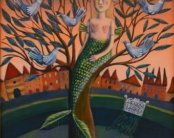 The Mermaid Costume