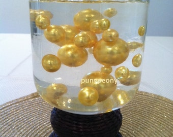 Jumbo Pearls Beads Assorted Sizes 30mm,24mm, 18mm, 14mm, 10mm Great for vase fillers, Wedding Centerpiece, Floating Pearls