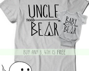 Uncle and Nephew Shirts - Uncle and Niece Shirts - Monkey Shirts - New Uncle Shirt - Uncle Gift - Brother in Law Gift - Matching Shirts 7Y3Ao1H
