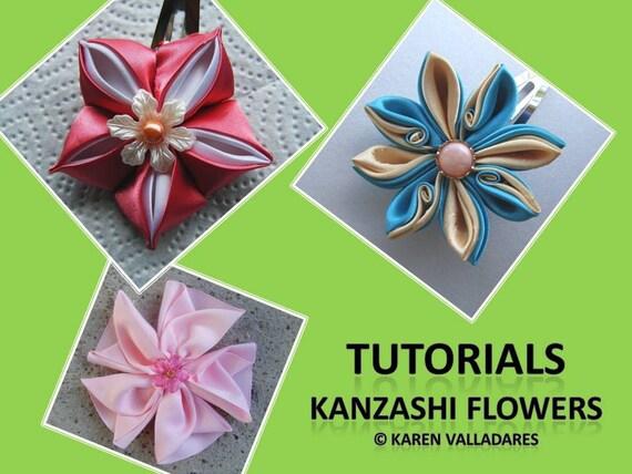 Instant download 3 kanzashi flower tutorials pdf hair accesories instant download 3 kanzashi flower tutorials pdf hair accesories patterns fabric flower pattern from nataliespot on etsy studio mightylinksfo Gallery