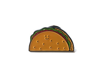 Taco Enamel pin // Enamel Pin // Taco