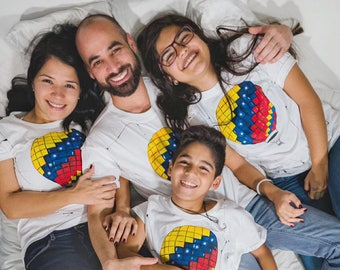Venezuelan Flag Design • Handmade Tshirt Design • Gift for Venezuela Lovers • Venezuela Women and Men Tee