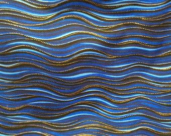 Rare Fabric — Sea Spirits by Laurel Burch — Clothworks Fabrics (3 options)
