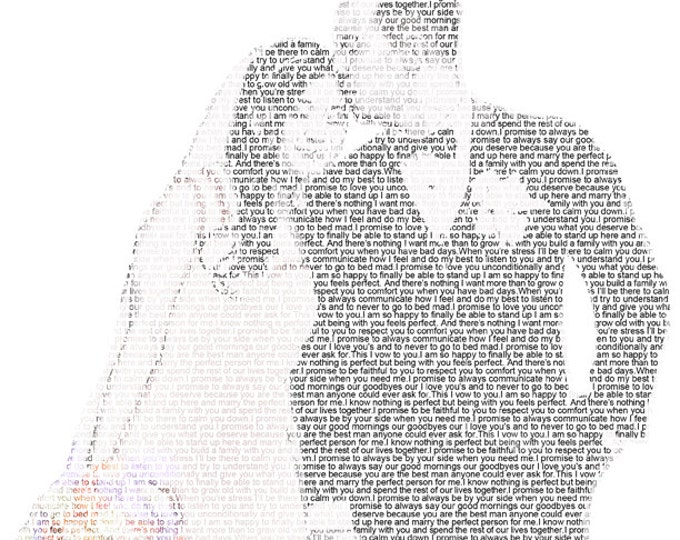 1st Anniversary Wedding Vow Art First Dance Lyrics First Dance Song Wedding Vow Print Wedding Song Lyrics on Textured Paper 8.5x11