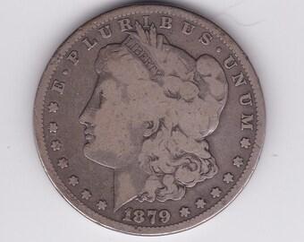 1879 S Morgan Silver Dollar