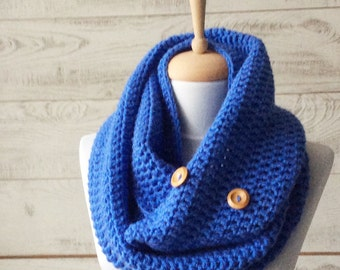 Scarf, infinity scarf, mens scarf, knit scarf, women scarf, circle scarf, chunky scarf Many Colors FAST DELIVERY