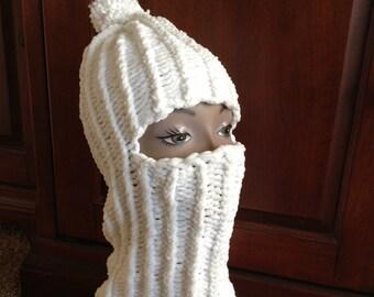 Balaclava -- a loom knit pattern
