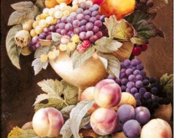 Fruits - Cross stitch pattern pdf format