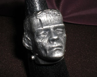 frankenstein monster, biker ring  will-size