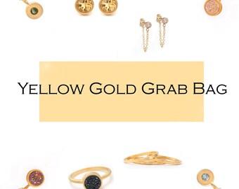 Yellow Gold Jewelry Grab Bag