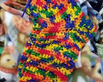 Hand Made Knit Slipper Socks