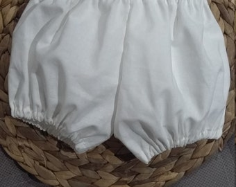 Handmade baby girl shorts bloomers