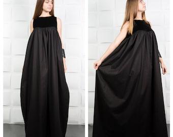Long dress, Black gown, Maxi dress, Dresses for women, Kaftan dress, Abaya, Formal dress, Boho maxi dress, Prom dress, Cocktail dress/D0062