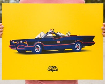 Batmobile poster - limited edition artist proof
