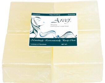 Areej 2 LB Shaving Melt and Pour Soap Base