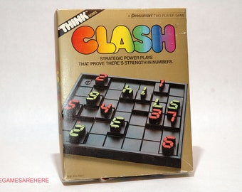 Clash Strategy Game from Pressman 1986