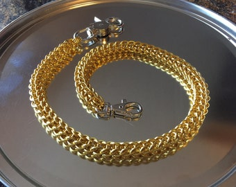 Wallet Chain Full Persian Standard Gold