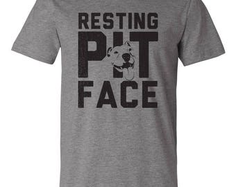 Resting Pit Face Tee