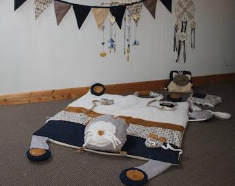 Sensorial awakening - unique rug - cat series