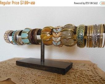 BIG SALE 20% OFF Bracelet Display, Bracelet Holder, Rustic Cuff Display