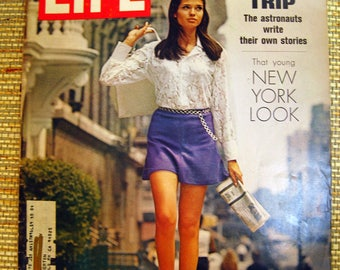 Life Magazine, August 22, 1969, Our Moon Trip, The New York Look
