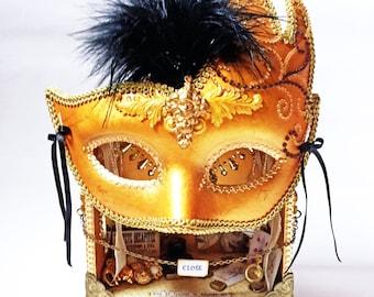 Venetian Masquerade Carnival Curio Shoppe Diorama