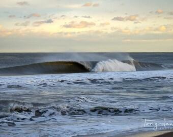 Wave Photo Print, Beach Wall Art Decor, Surf Photography, Ocean Landscape