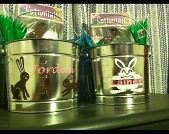 Custom Tin Easter Basket