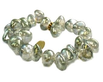 SALE Mint Bubble Bracelet