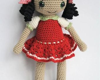 Amigurumi Doll Book : Vintage dolls crochet pattern book annie s showcase of needlecraft