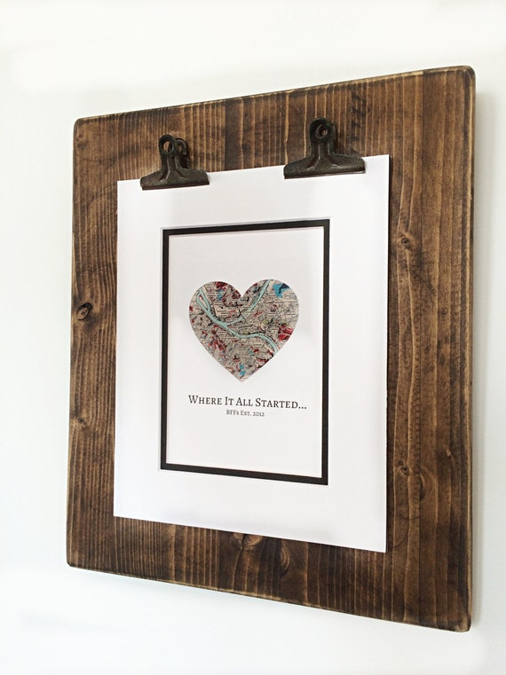 where it all started valentines day gifts for friends gift for best friends distance friendship relationship gift bff valentines day