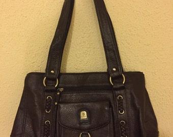 Fabulous Vintage Leather 'Phoenix' Handbag/Shoulder Bag in Excellent Condition