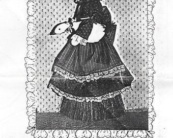 Goose Girl Collection Broom Cover Sewing Pattern