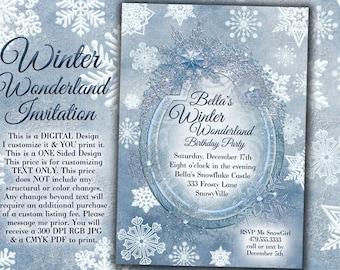 Frozen Winter Wonderland Party Winter Snowflake Ball