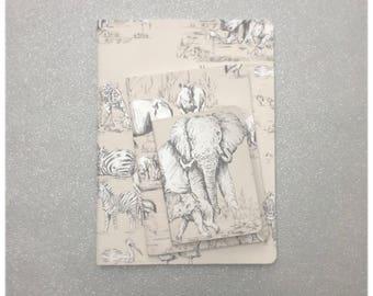 Animal Kingdom Notebooks Set of 3