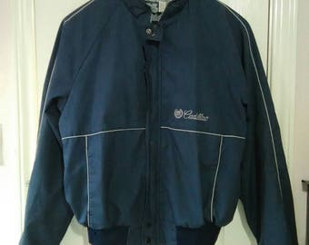 Retro Cadillac jacket from the 80s by swingster sz large