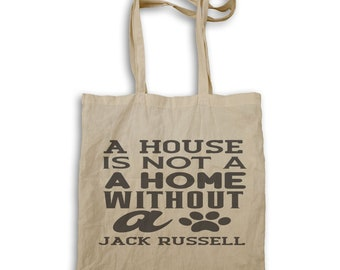 A house is not a Jack Russell Tote bag v942r
