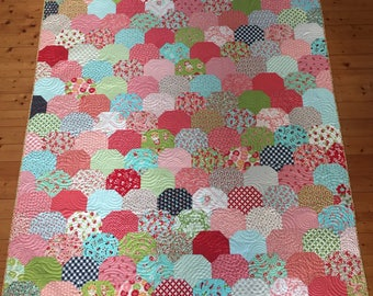 Clambake - Thimble Blossoms Lap Quilt in Bonnie and Camille Fabrics