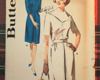 2773 Simplicity Size 16 Bust 36 Vintage 1960s Dress Pattern FREE SHIPPING