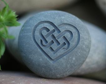 Celtic Heart - Celtic knot - symbol of love
