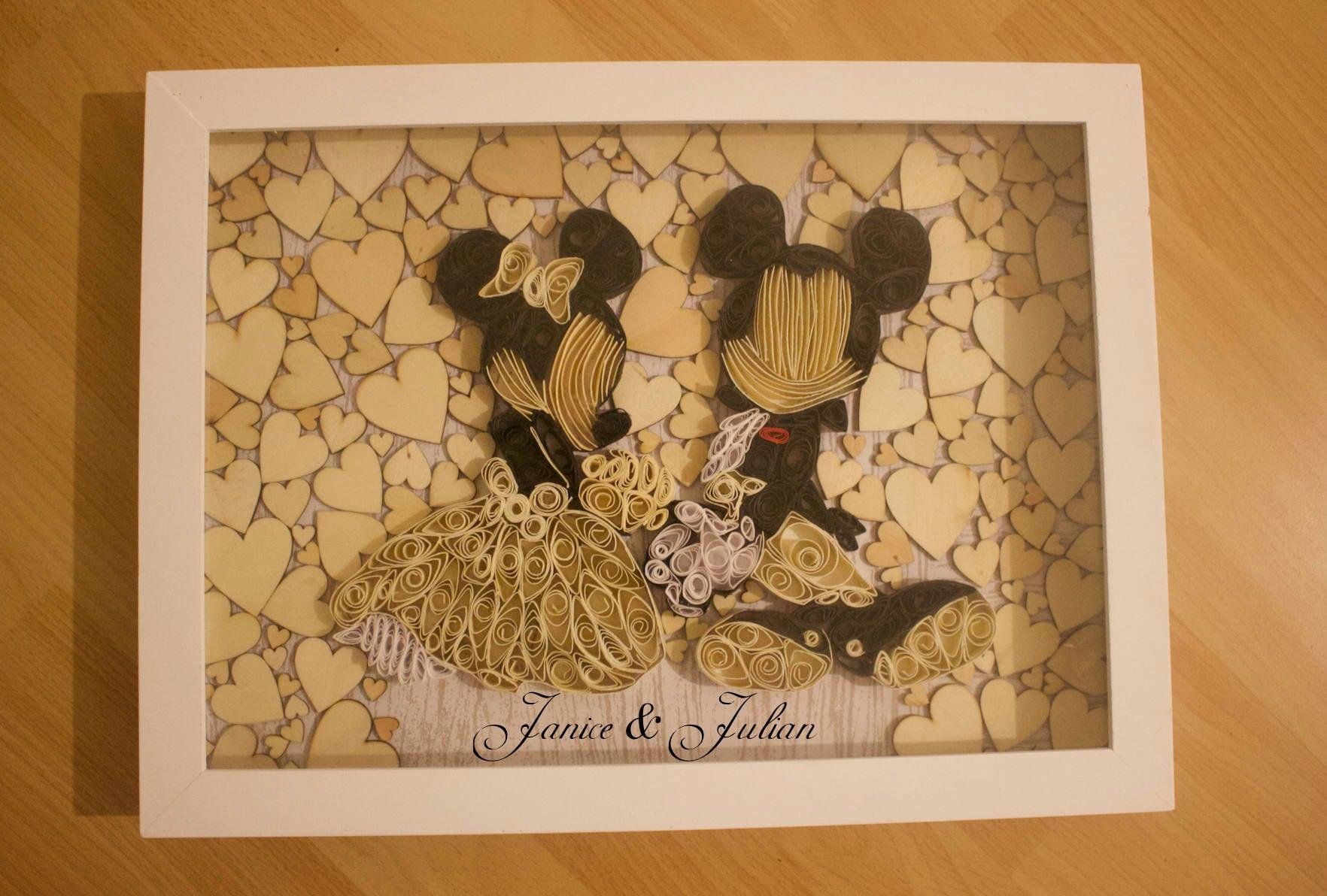 Hochzeit Gästebuch Alternativen / Disney Hochzeit / Mickey und