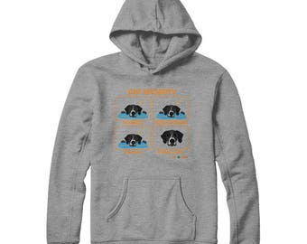 Funny GSP Hoodie | GSP Security | German Shorthaired Pointer | Black Spots